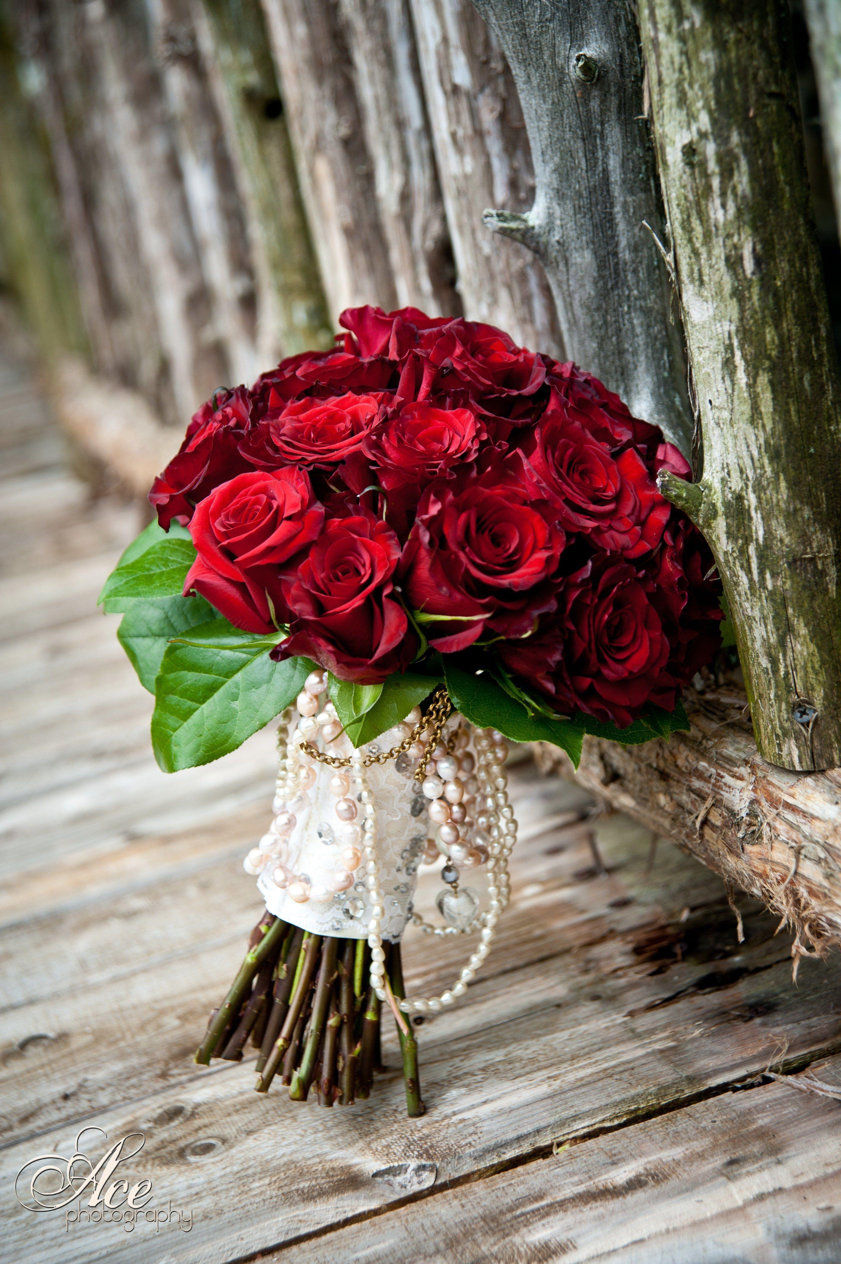 Enchanted Florist Ace Photography Red Rose Bouquetg 28324256