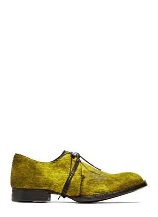 Barny Nakhle Calf Hair Oxford Shoes
