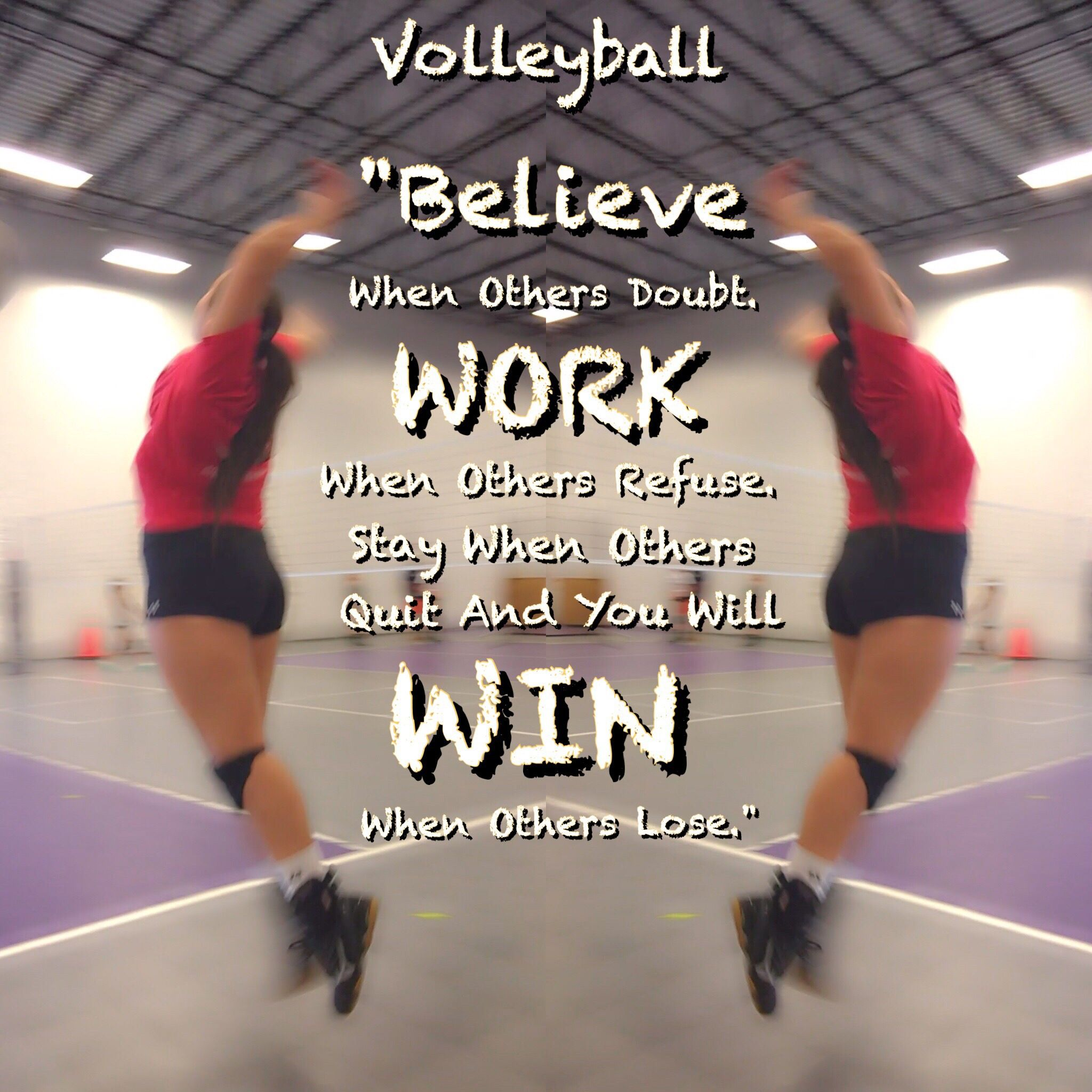 Volleyball Work For It Make Goals And Hunt Them Never Quit And Never Let Anyone Define You You Volleyball Quotes Volleyball Motivation Coaching Volleyball