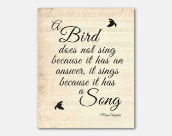 Image result for maya angelou a bird