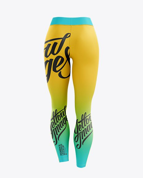 Download Leggings Mockup Back View In Apparel Mockups On Yellow Images Object Mockups Mockup Free Psd Clothing Mockup Mockup Psd