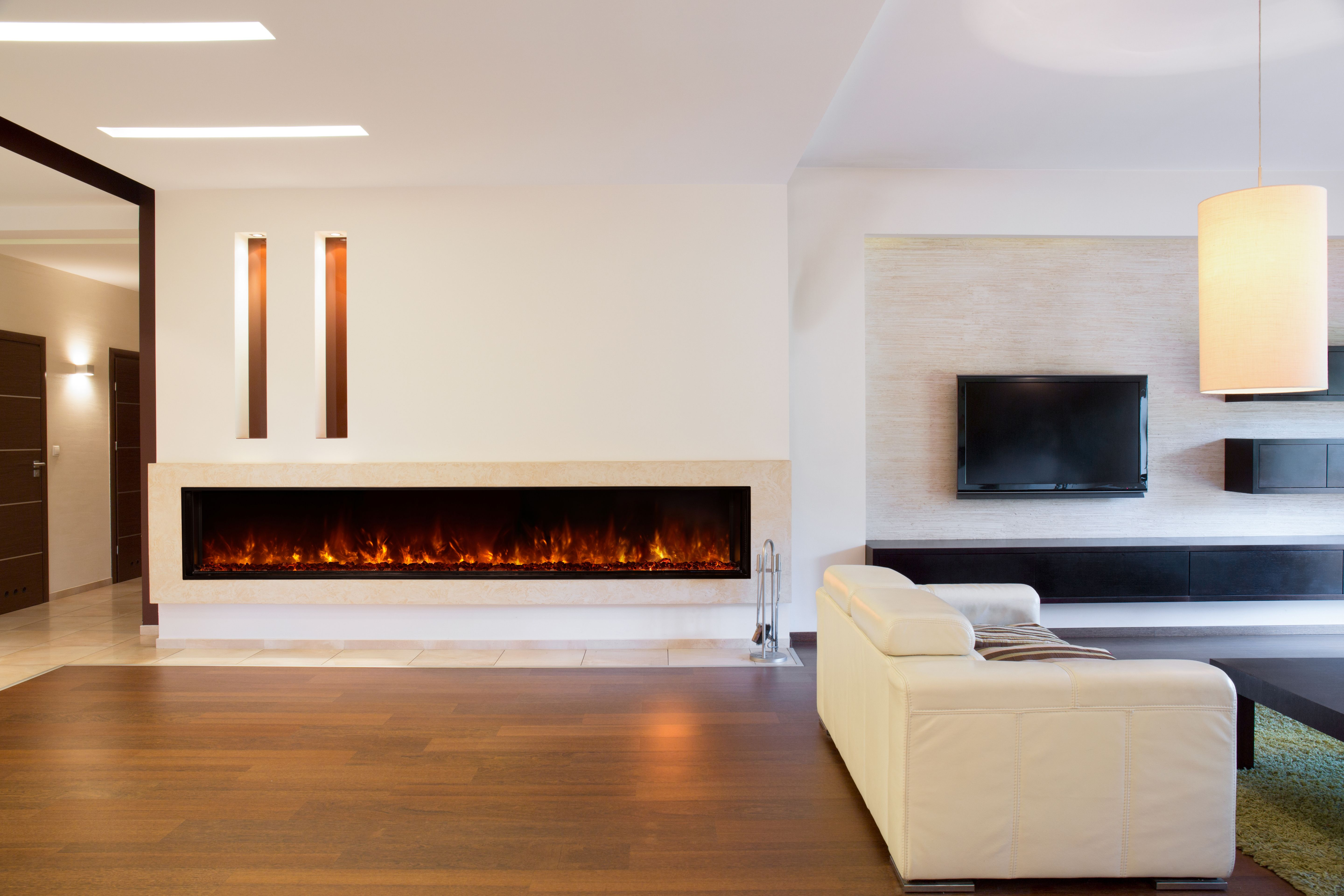 Modern Flames Lfv100 Electric Fireplace Built In Electric Fireplace Linear Fireplace