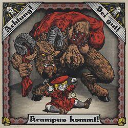 Krampus poster by Phineas X. Jones
