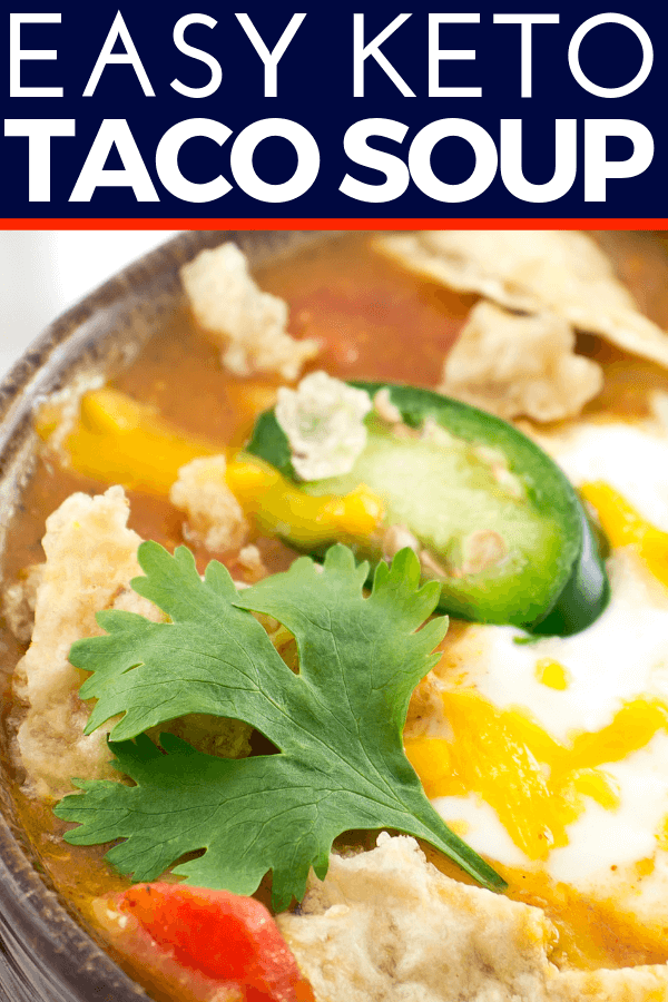 Drool Worthy Keto Taco Soup With Ground Beef Cream Cheese Recipe In 2020 With Images Soup With Ground Beef Keto Taco Ground Beef Cream Cheese