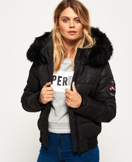 3516c533b Superdry Everest Ella Bomber Jacket | Giyim | Superdry jackets ...