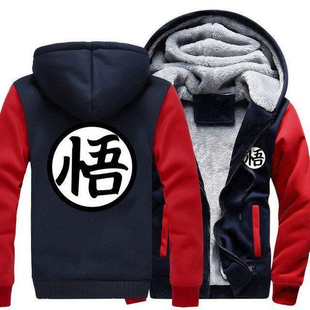Dragon Ball Z Son Goku Cosplay Jacket Sweatshirts Thick Coat Hoodie HOT