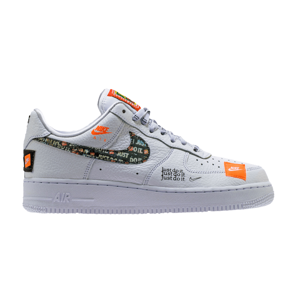 Air Force 1 Low 07 Prm Just Do It Nike Ar7719 100 Goat Nike Air Force Mens Nike Air Pink Nike Shoes