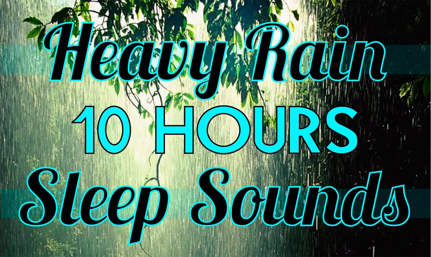 Rain 10 Hours Of Rain Sounds Sleep Sounds 10hrs Rainfall Hd Sound Sleep Rain And Thunder Sounds Sound Of Rain