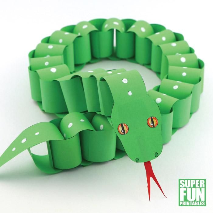 Photo of Paper chain snake