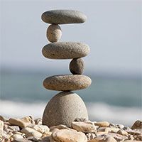 Giant Side 2 Side Rock Cairns With Images Stone Garden Statues