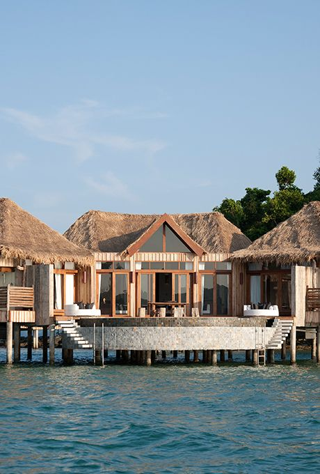 Nine Overwater Bungalows To Escape Your Winter Blues: Island Resort, Water Villa, Overwater Bungalows