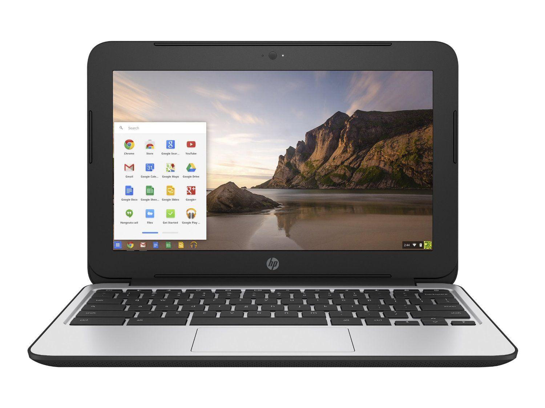 Hp Chromebook 11 G4 11 6 Inch Laptop Intel N2840 Dual Core 2gb Ram 16gb Flash Ssd Chrome Os Black Com Hp Chromebook Chromebook Chromebook 11