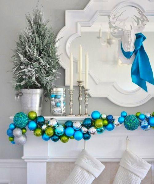 украшение дома на Новый Год (с изображениями) | Украшение ...