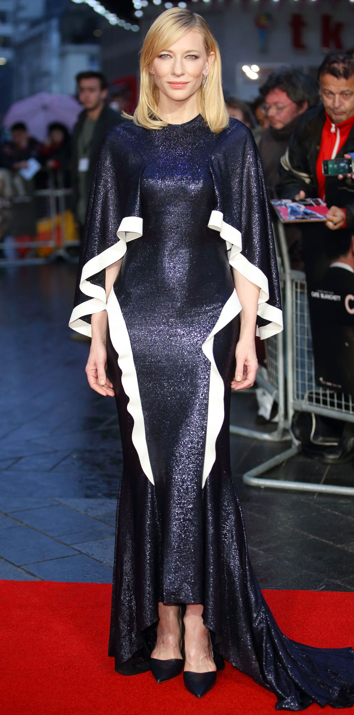 Cate Blanchett Red Carpet Suit