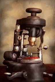 Antique Optical Lab Equipment   Vintage Optometry