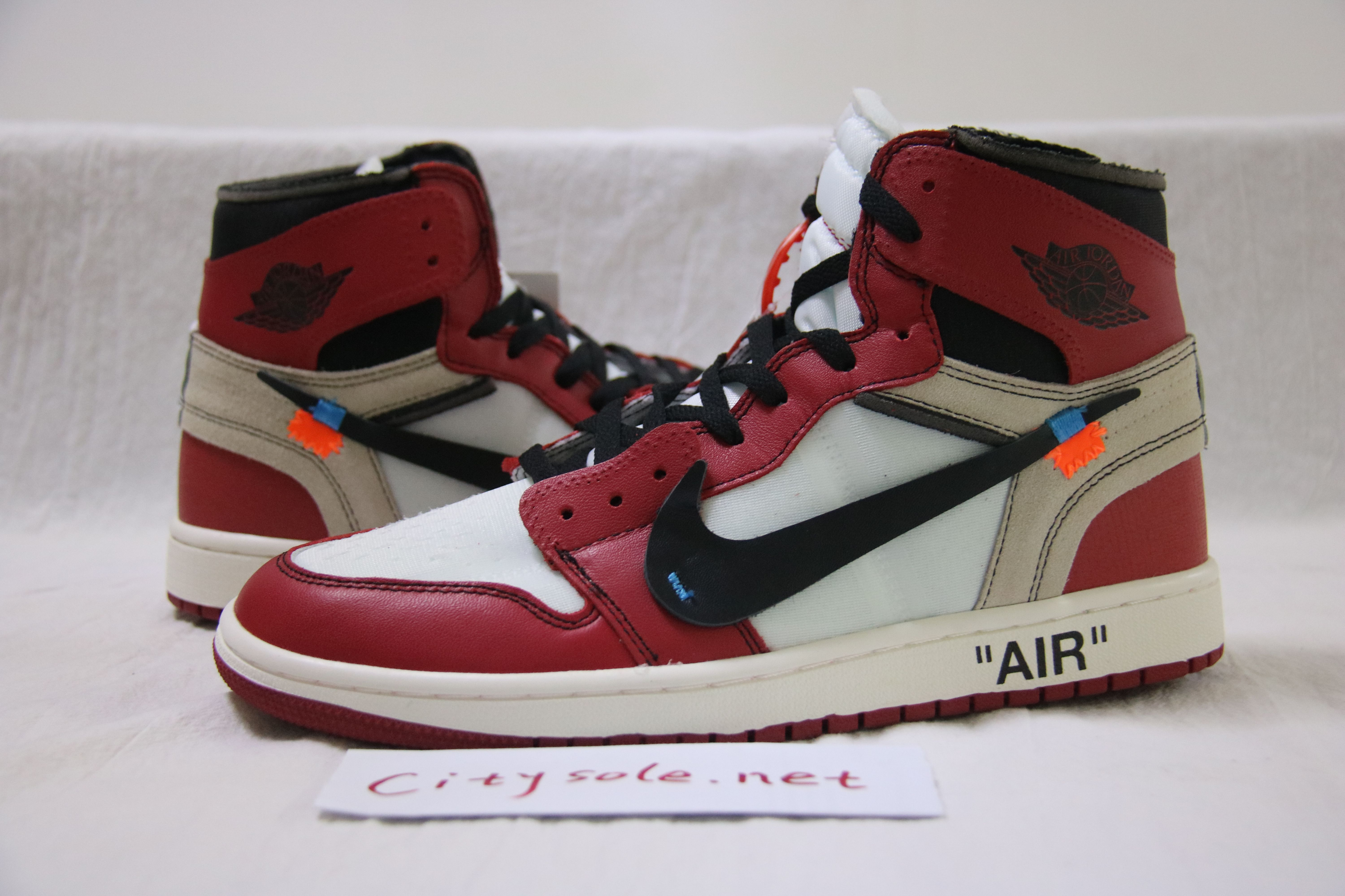 separation shoes ce283 65f84 Exclusive off white nike air jordan 1s red ready to ship from Citysole.net  Email Imessage  citysole.net19 gmail.com Skype  citysole.net19 gmail.com ...