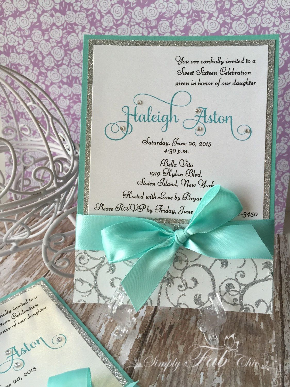Personalizado hecho a mano personalizado boda de bling Glitter