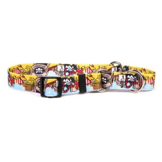 Pirate Booty Martingale Dog Collar
