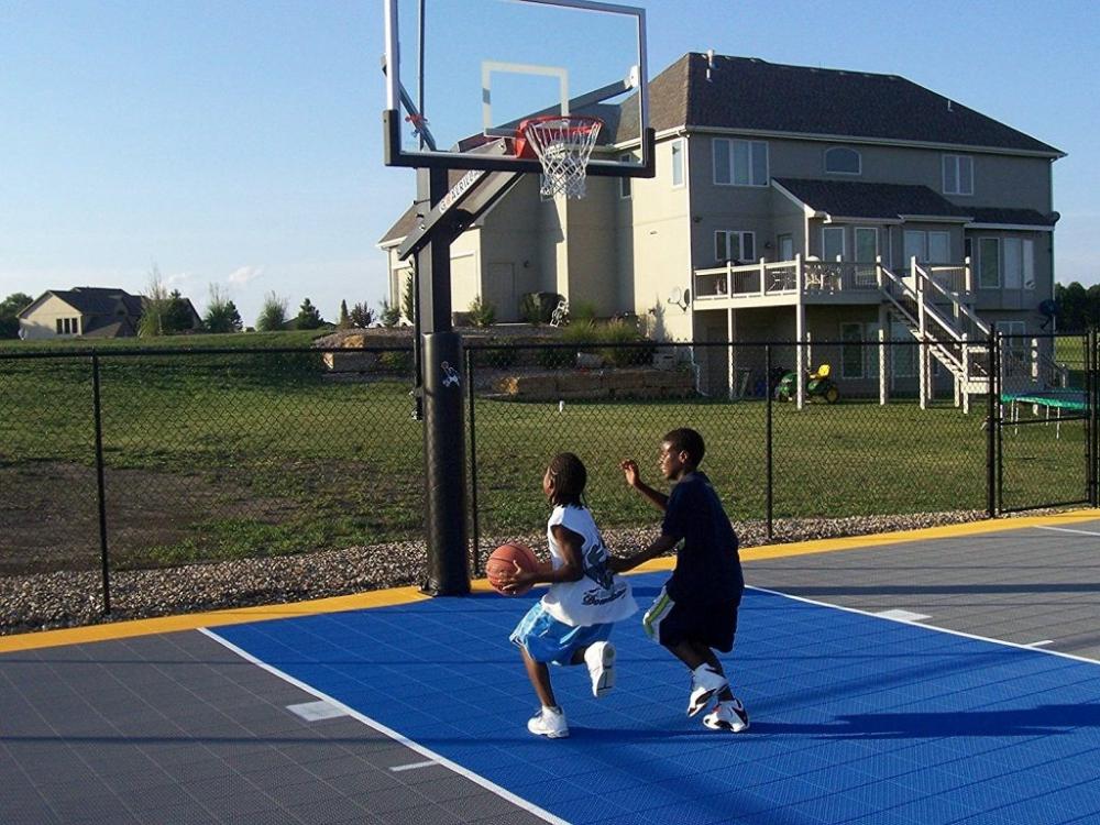 Pin on Backyard Basketball Court