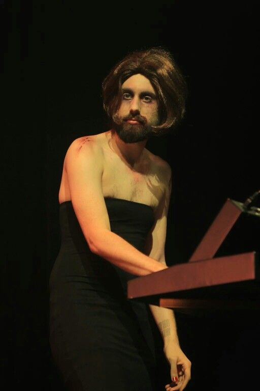 Mikey is a gorgeous bearded lady