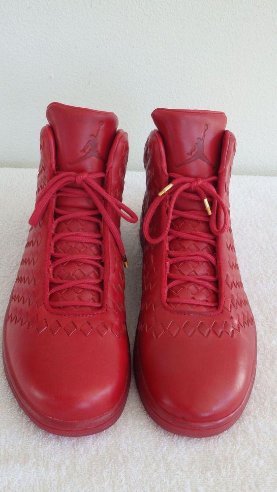 2014 Nike Jordan Shine Lux Leather Red