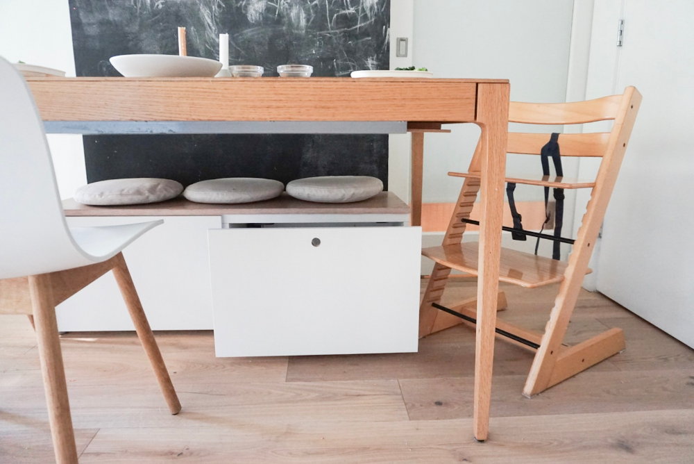 Ikea Hack Small Storage Bench For Our Dining Table Small