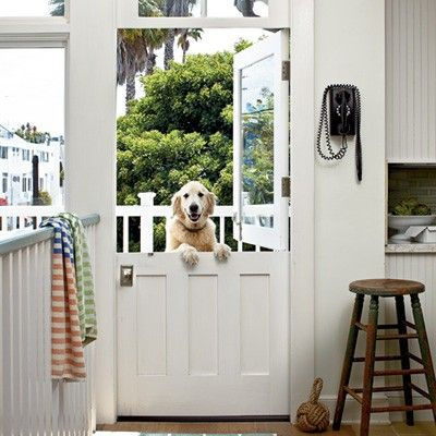dutch door!