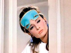 Audrey Hepburn in Breakfast at Tiffany's as Holly Golightly