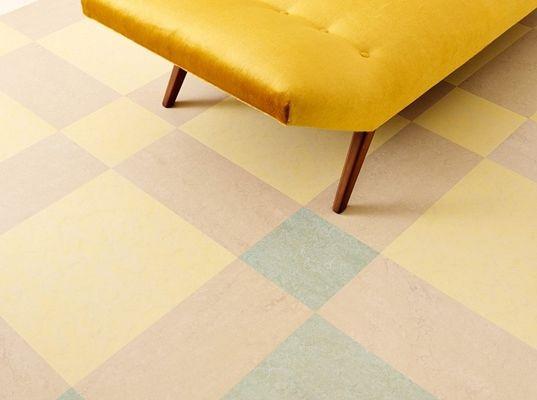 Marmoleum modular een vloer met ruimte voor fantasie een nieuwe