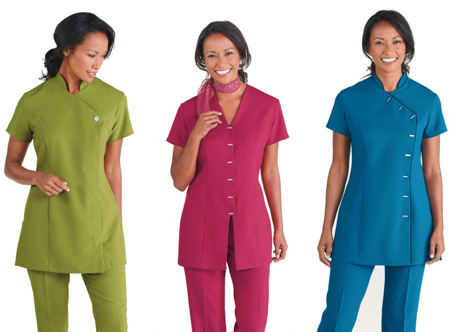 Spa uniform spa uniforms pinterest for Uniform spa salon