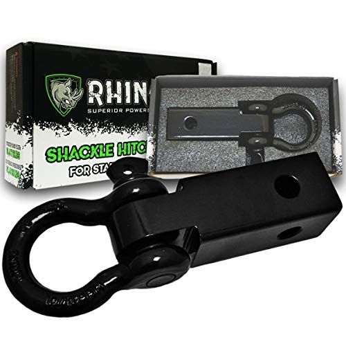 RHINO USA Shackle Hitch Receiver, Best Towing Accessories