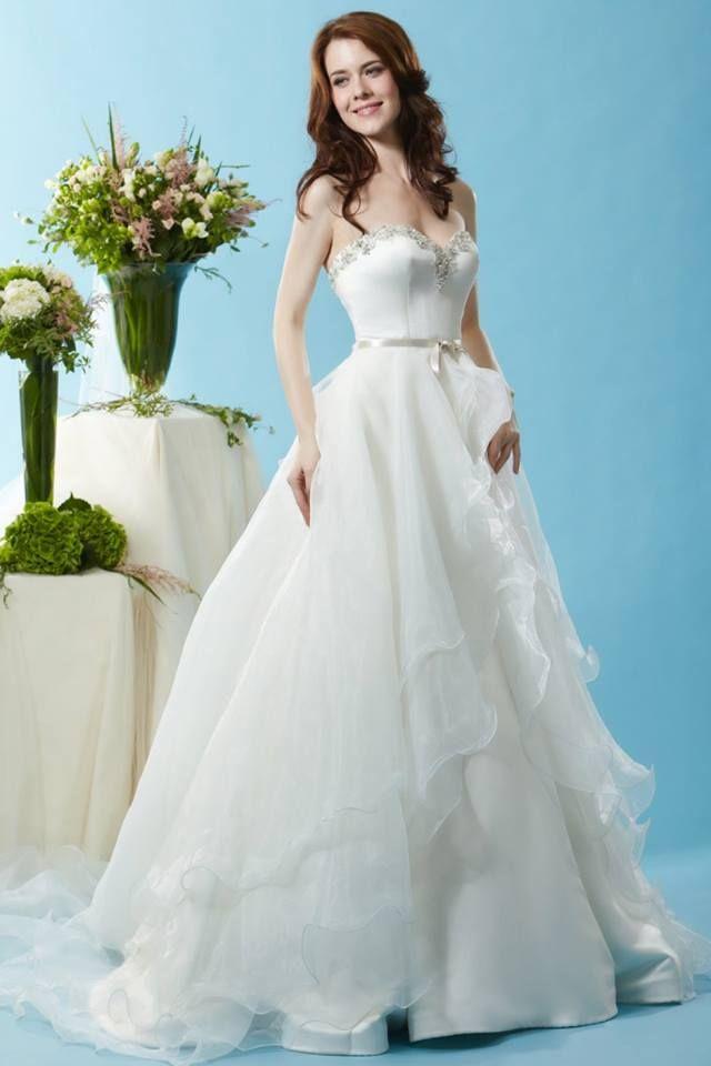 lovely wedding dress from Eden Bridals <3 https://www.facebook.com ...
