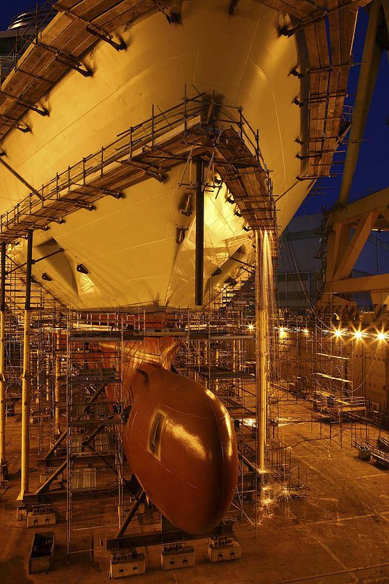 ©Be360images - Industrial Photography -  Fincantieri s.p.a. Marghera Shipyard