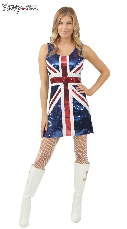 UK Flag Dress Pintrest Party