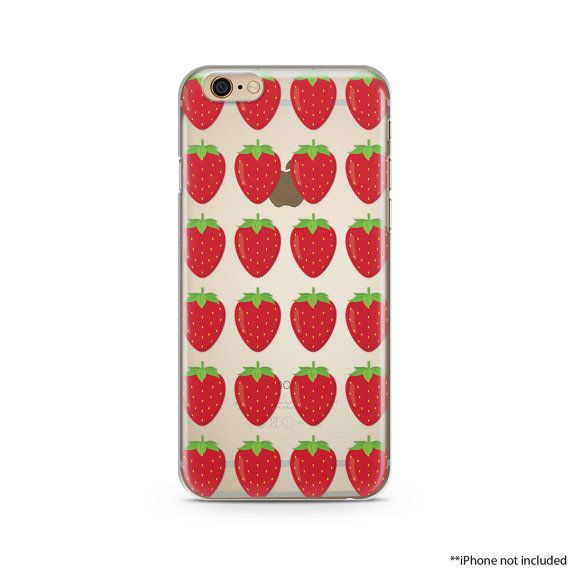 coque iphone 6 fraise
