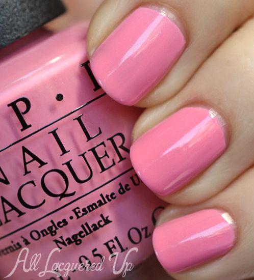 Pink Nail Polish Mini: OPI Couture De Minnie Nail Polish Swatches & Review