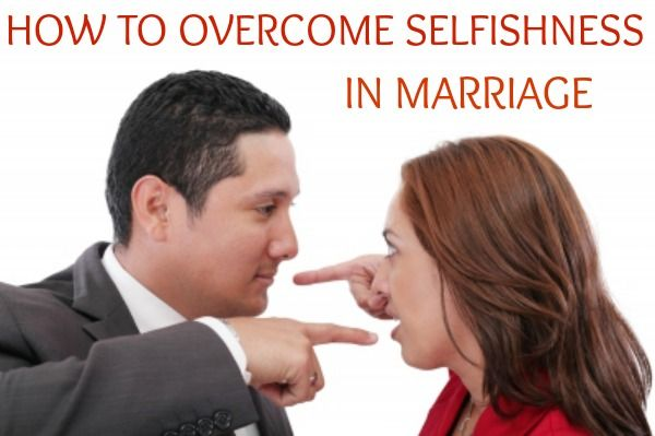 selfish husband signs