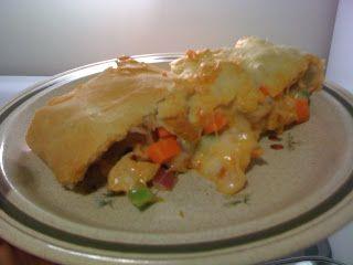 Take Me the Way I Am: recipe of the week: buffalo chicken stromboli