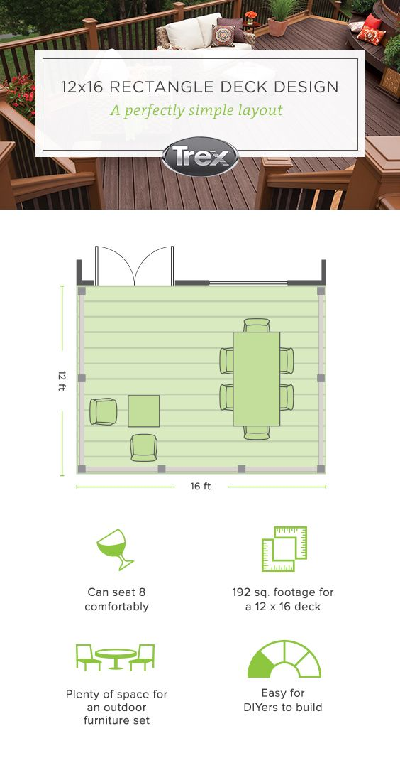 Want To Learn How To Plan And Build A Rectangle Deck Get A Free