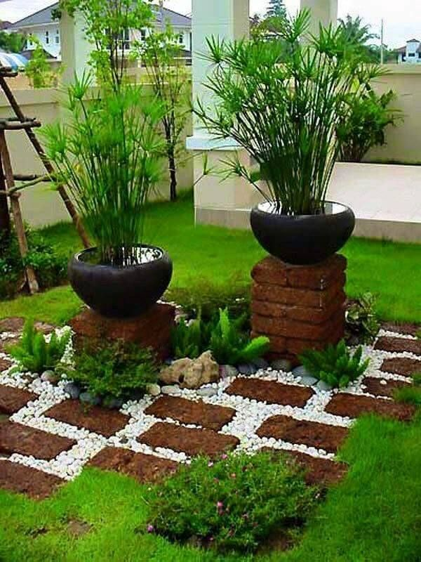 GroBartig Jardim Simples E Bonito   Veja 50 Ideias Para Fazer Em Casa! Mais