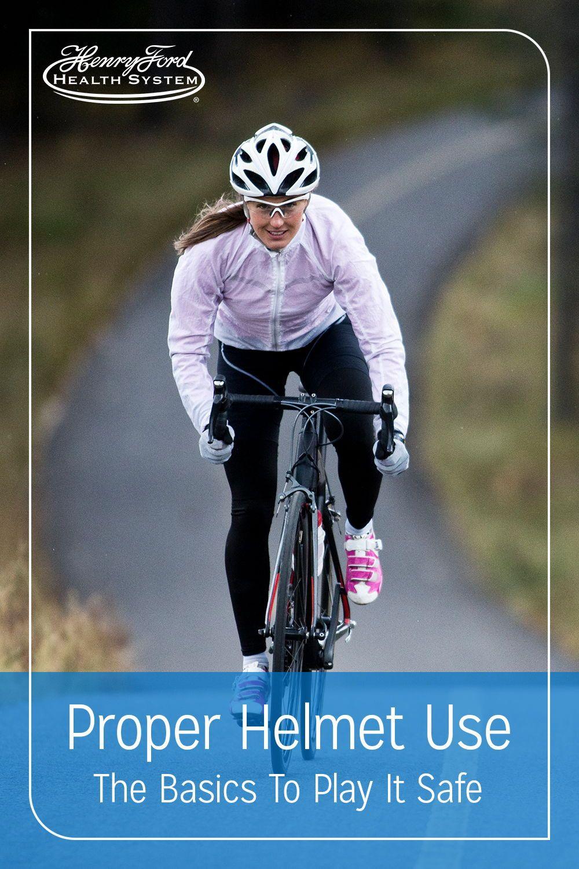 Play It Safe Proper Helmet Use in 2020 Helmet brands