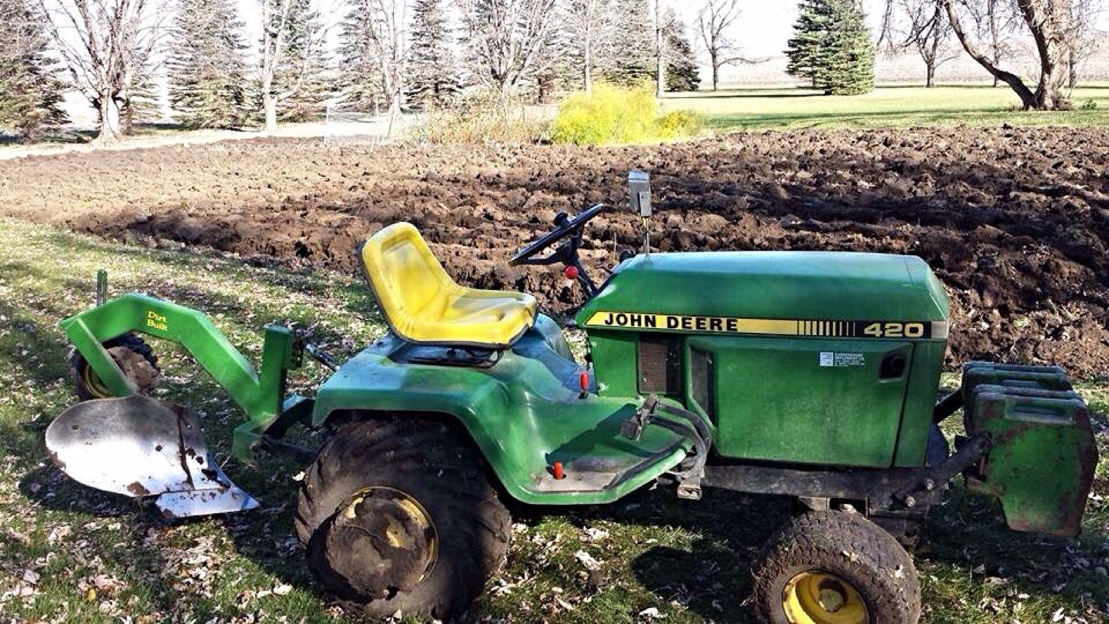 John Deere Garden Tractors