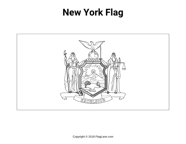 Free Printable New York Flag Coloring Page Download It At Https Flaglane Com Coloring Page New York Flag Flag Coloring Pages Coloring Pages Flag