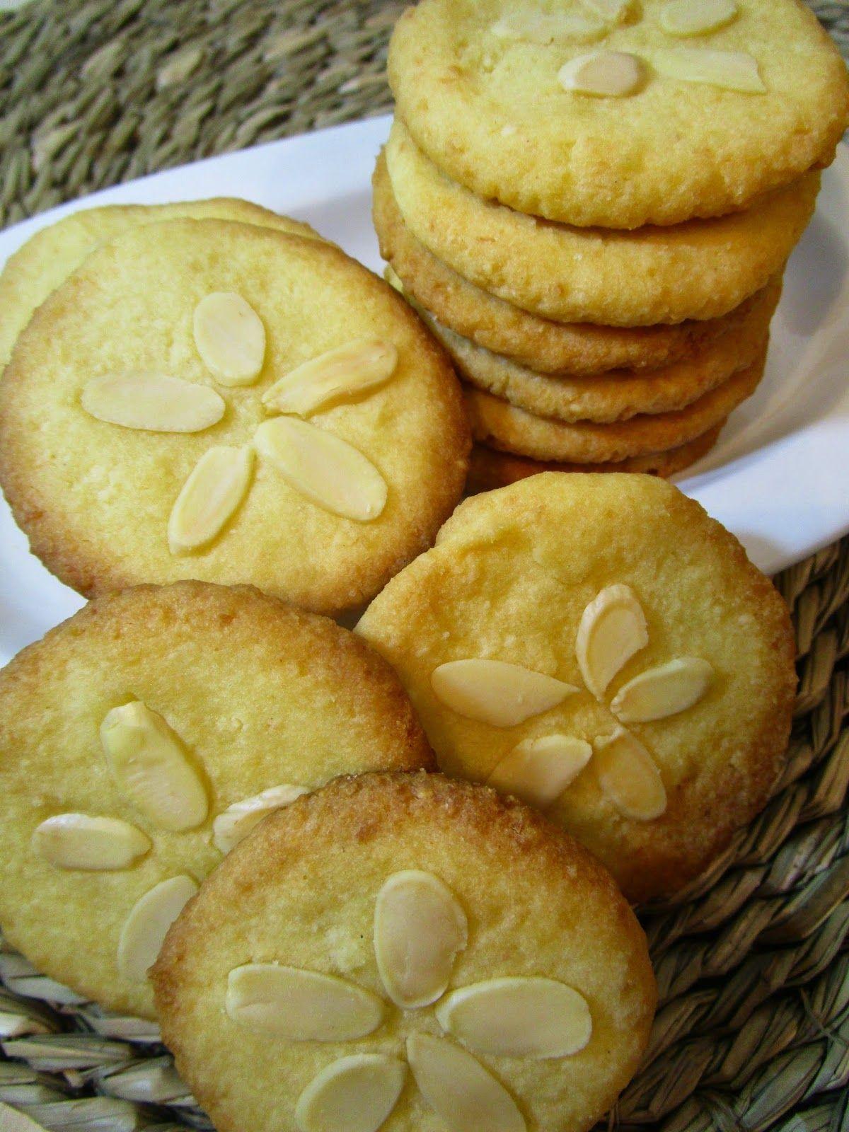Pastas De Coco Y Almendra Sin Gluten Sin Lactosa Y Sin Huevo