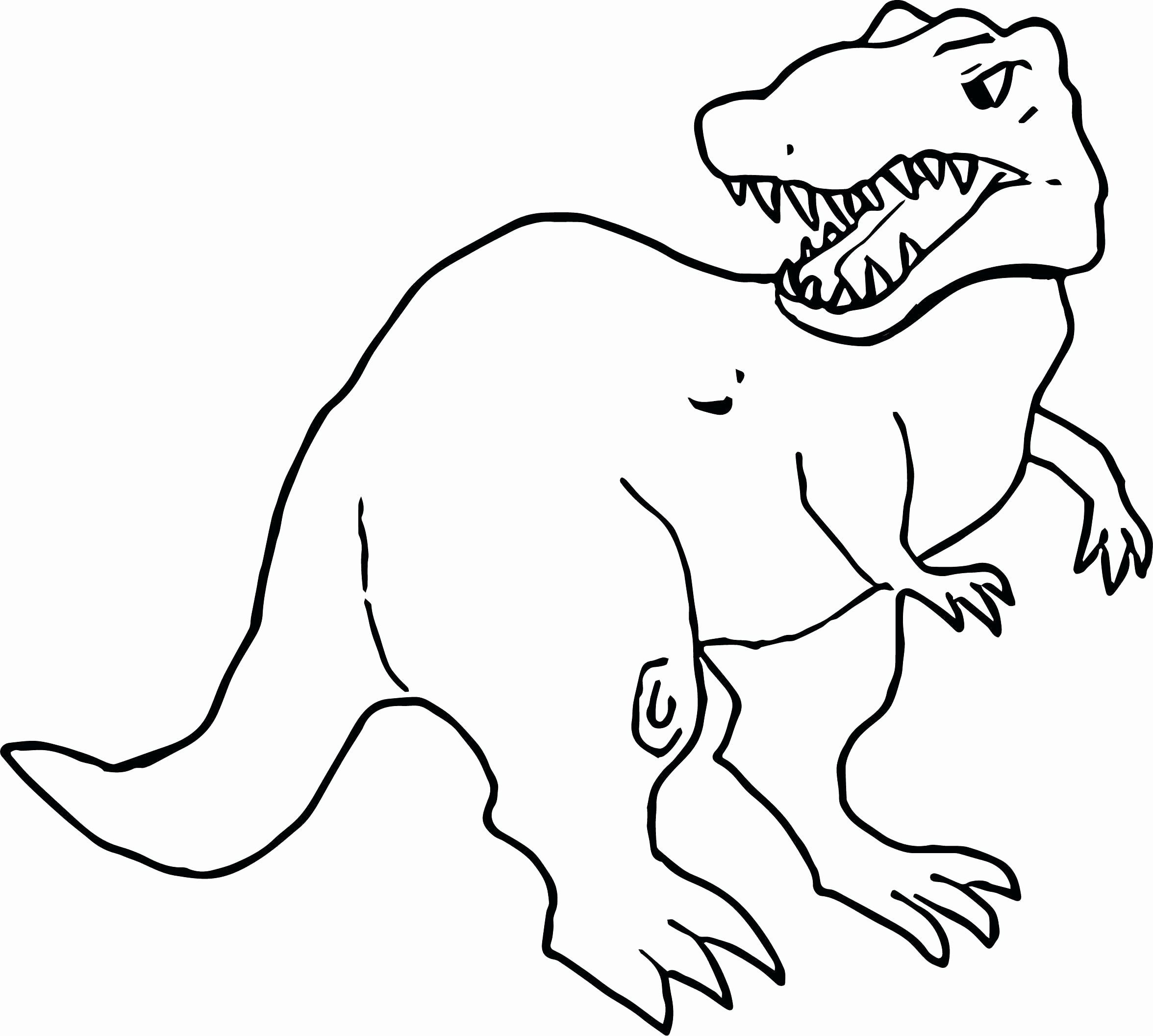 T Rex Coloring Pages Printable in 2020 Dinosaur template