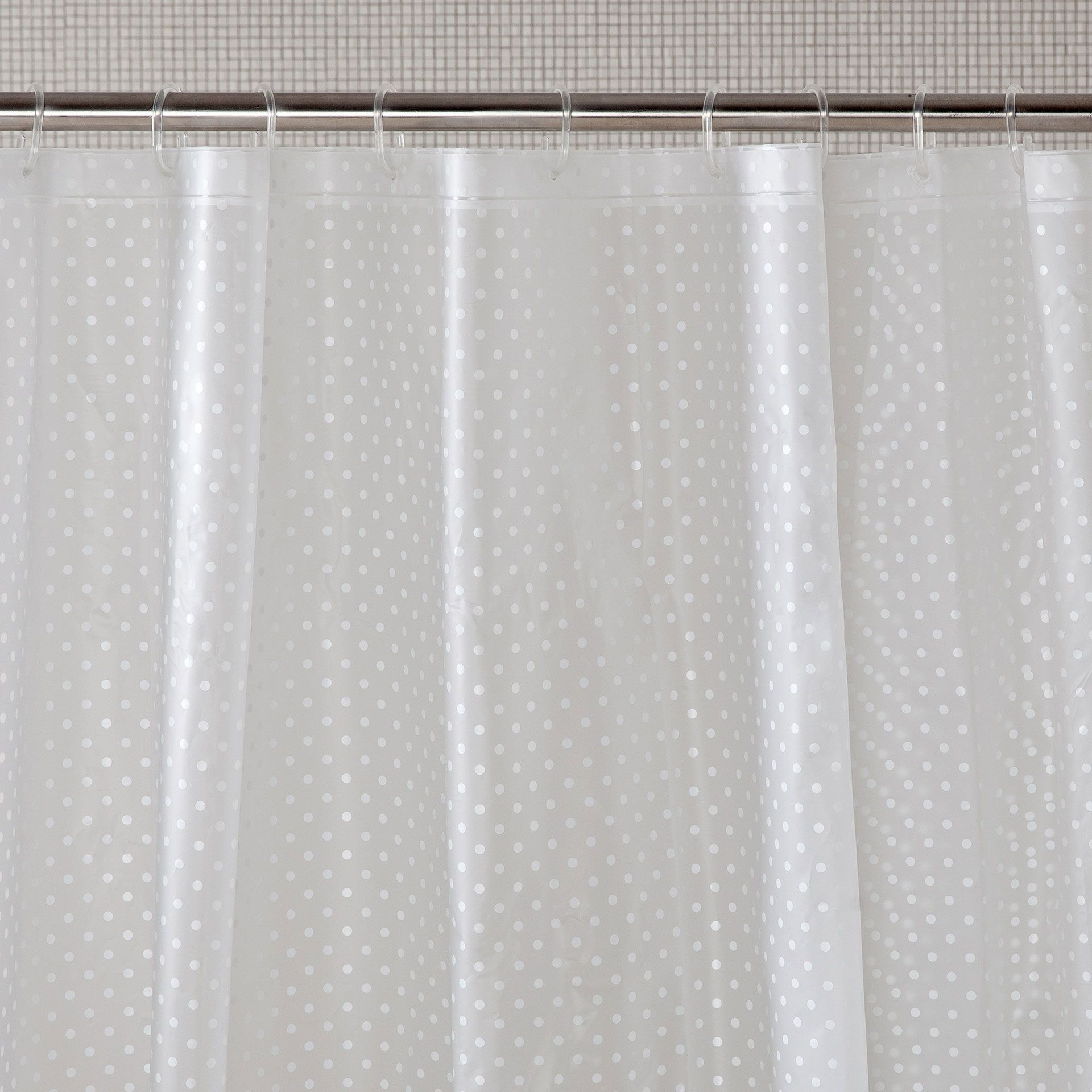 Polka Dot Shower Curtain Curtains ZaraBathroom