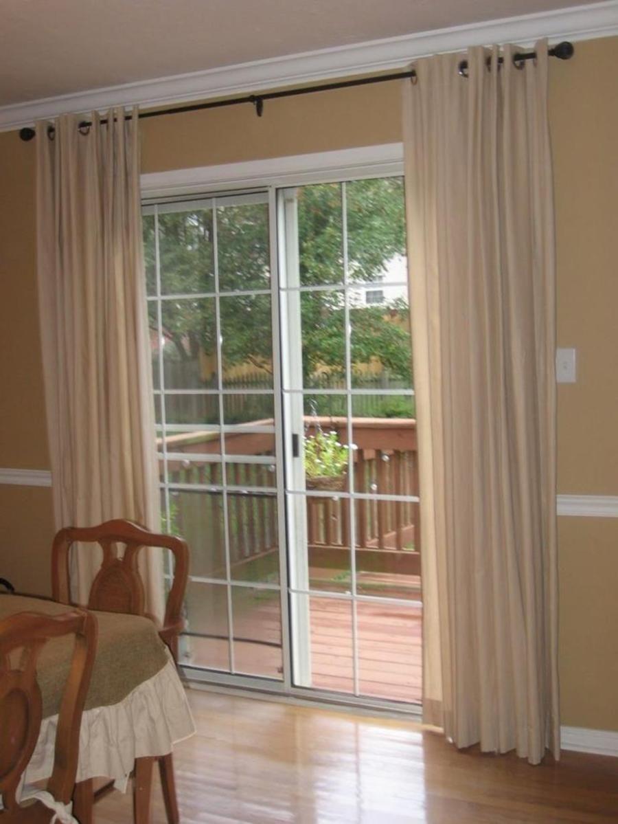 Sliding Door Window Treatments 16 Patio Door Window Treatments