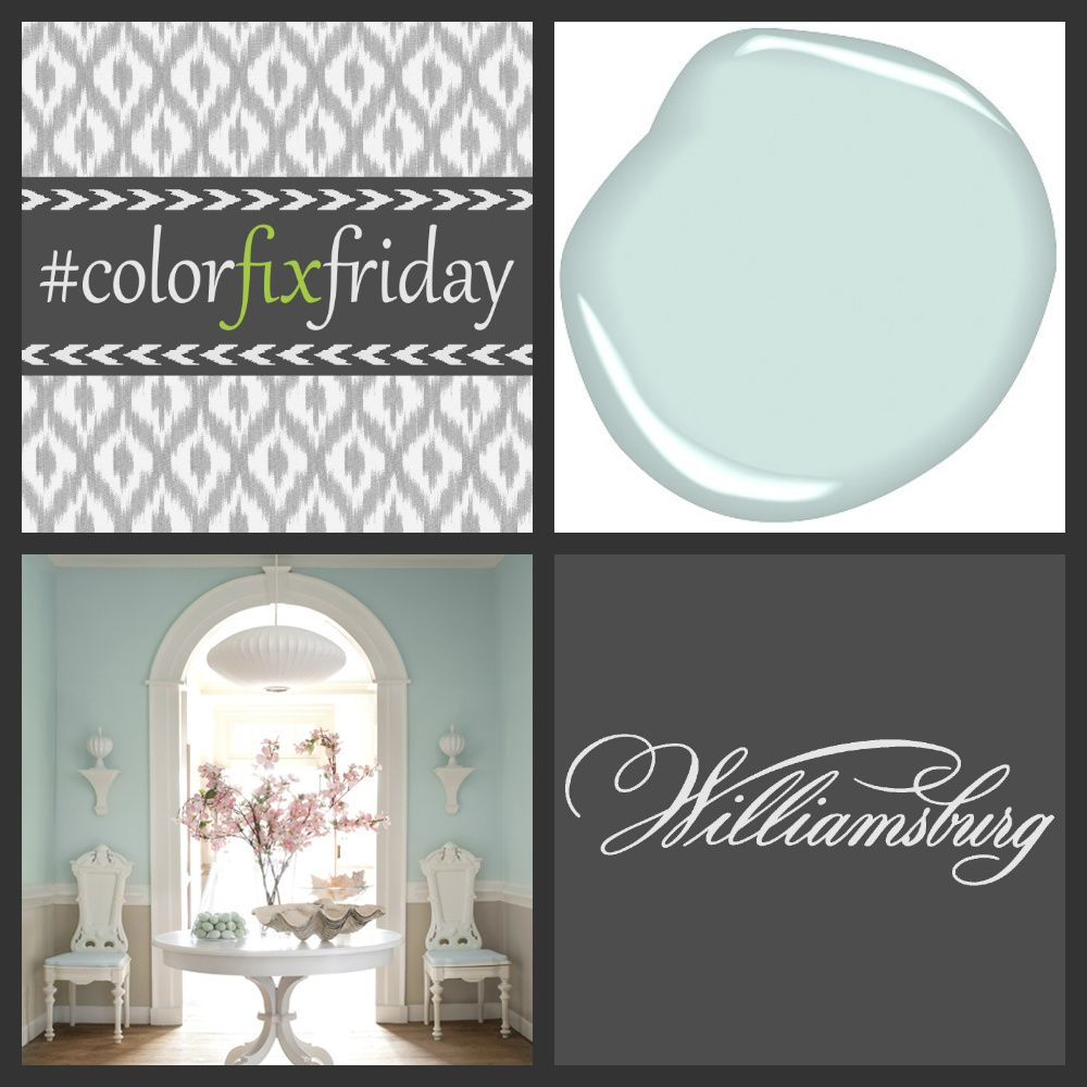 The williamsburg color collection by benjamin moore on for Benjamin moore ewing blue