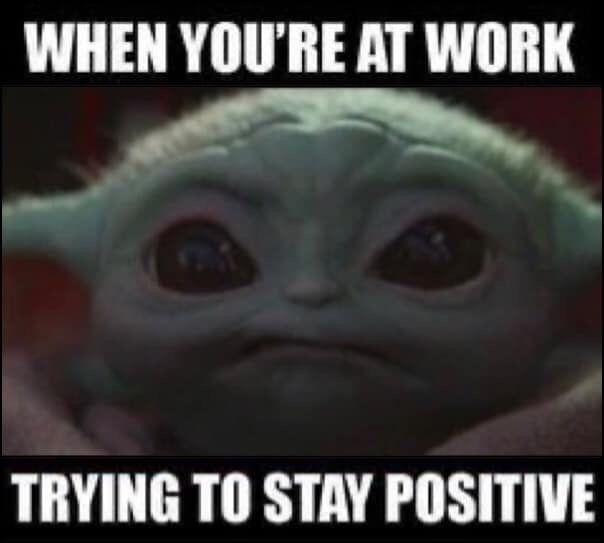 Pin By Rachel Miller On Work In 2020 Yoda Funny Yoda Meme Star Wars Humor