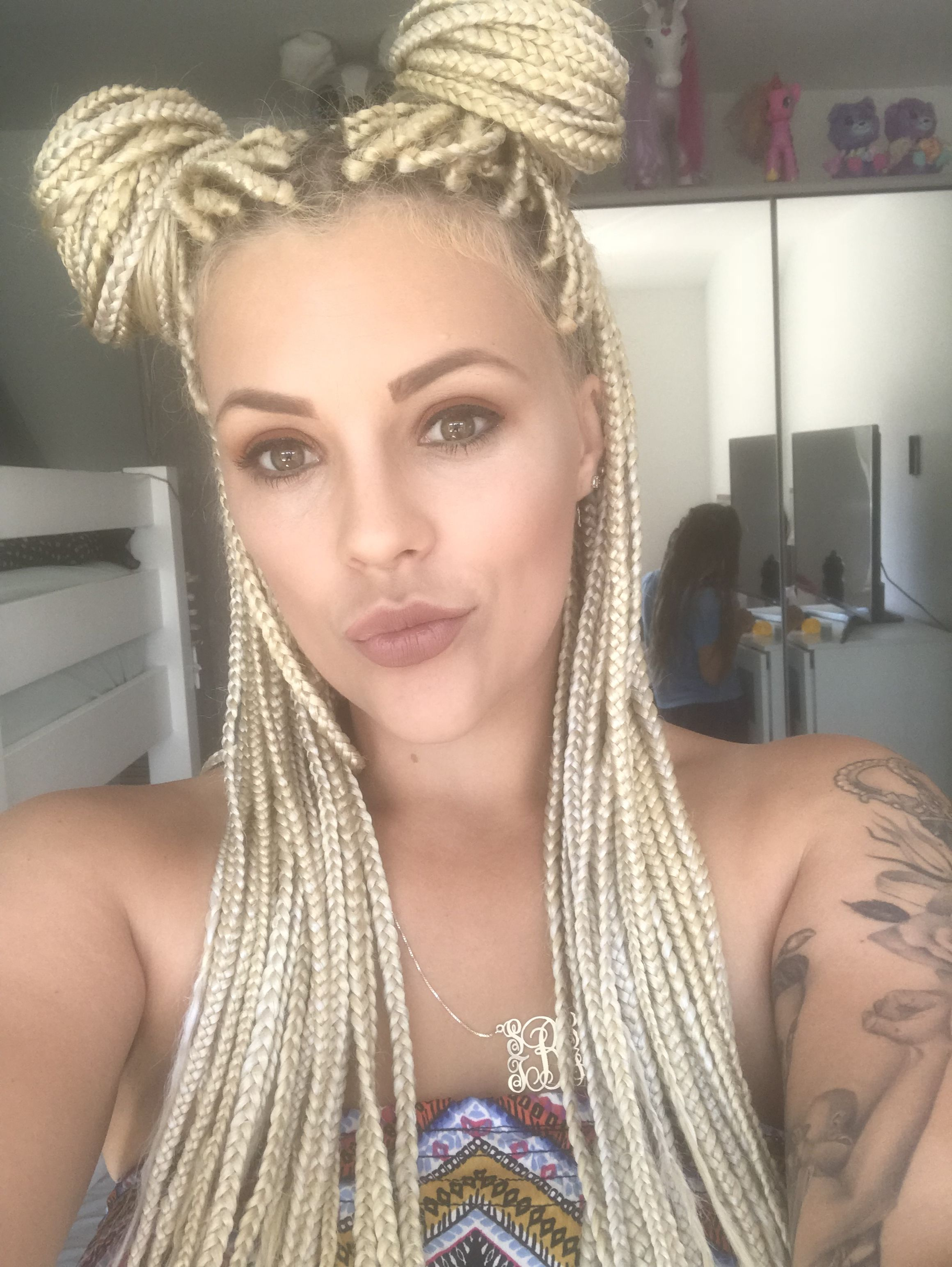 Braids Hairstyles 2019 White